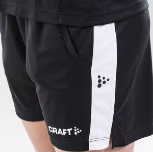Shorts Craft Progress Practice, herr & dam, svart