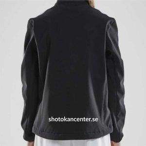 Shotokan Center Softshell jacka Craft, vuxen