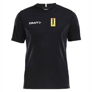 T-shirt Craft Squad Shotokan Center, svart, juniormodell