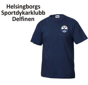 T-shirt Basic Delfinen