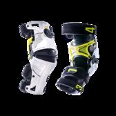 Mobius X8 knäskydd vit/gul