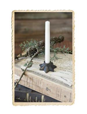 Stjärn ljusstake till julgransljus