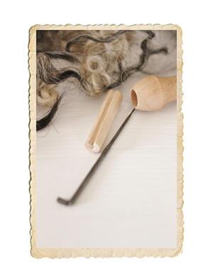 Filtnålshållare med filtnål