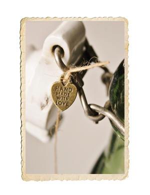 Hand made with love berlock