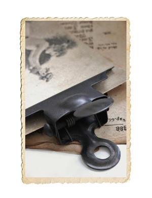 Dokumentklämma med magnet
