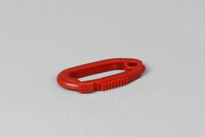 Carabiner Hook, Nylon, 10-Pack