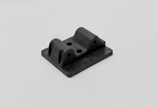 Twin Mount Bracket, Medium, Black