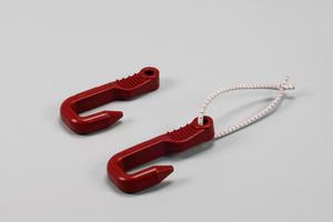 Creel Hook, Prawn, 4 mm Shock Cord