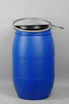 Bait Barrel, Commercial, 120 L, Blue