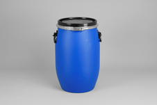 Bait Barrel, Commercial, 60 L, Blue