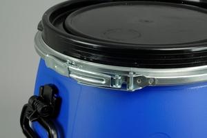 Bait Barrel, Commercial, 60 L, Blue