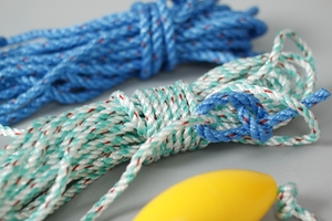 Complete Rope & Bouy Product, White