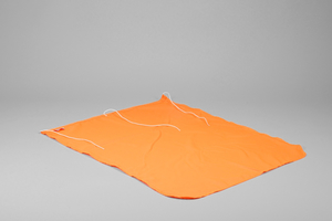 Flag, 70x90 cm, Orange