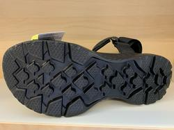"""SKECHERS Herr-sandal svart.  """"Mens Go Walk Outdoors""""  Väldigt lätta och sköna."""