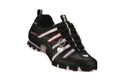 "Skechers, svart med rosa detaljer ""elastika"""