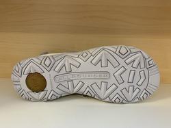 Kvalitets-Sandal  ALLROUNDER,  med uppbygd innersula, supersköna. Vit/grå