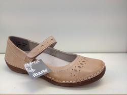 Ballerina-sko i skinn med utagbar innersula, Sköna Marie