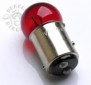 6v BAY15D Röd lampa baklyse 18W/5W