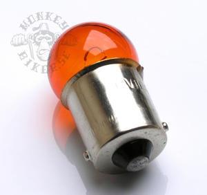 12v BA15S Orange lampa blinkers 10W