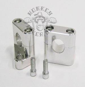 Handle bar holders alloy CNC Kitaco style