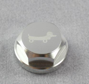 Alloy top nut forks Dax