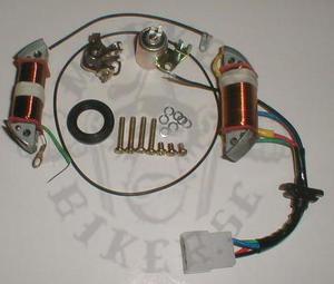 Repair Stator Hitachi 6volt breaker point ignition 3