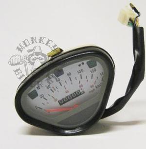 Hastighetsmätare Dax 140km/h Vit