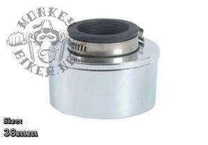 Luftfilter 38mm - med skyddshölje
