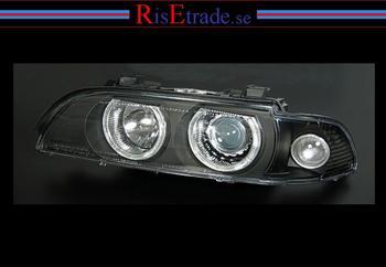 BMW E39 Celis Angel Eyes i svart