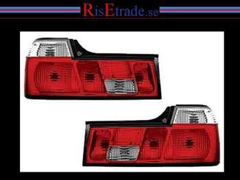 Baklysen Rödvita-kristall till BMW E32
