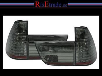 LED Baklysen BMW X5 E53 / Smoke