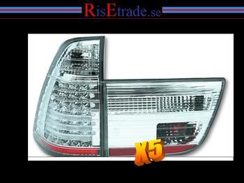LED Baklysen BMW X5 E53 / krom