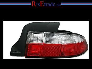 BMW Z3 + M-Roaster / röd-vita