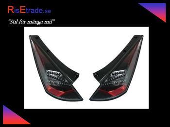 LED Baklampor till Nissan 350Z / Svarta