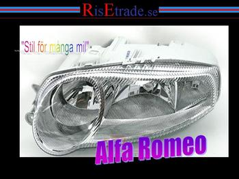 Strålkastare Alfa Romeo 147 Vänster