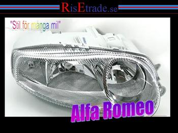 Strålkastare Alfa Romeo 147 Höger