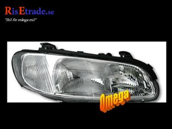 Strålkastare till Opel Omega B år -8/97 / Höger