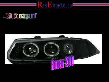 Angel Eyes till Rover 200 / Svart