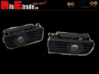"""Dimljus """"projektor"""" för BMW E36 i svart"""