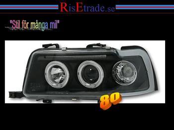 Angel Eyes Audi 80 B4 / Svart