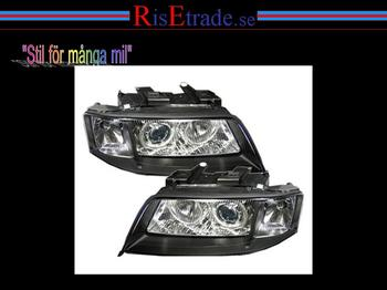 Angel Eyes till Audi A6 4B 97-99 / svart