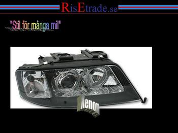 Angel Eyes XENON Audi A6 4B / Svarta