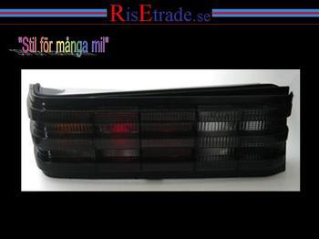 Svarta baklampor till Mercedes 190E W201