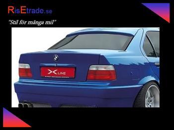 Bakrutespoiler till 5er BMW E34 sedan