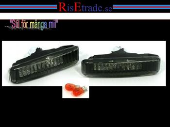 Sidoblinkers i kristall svart till BMW E39
