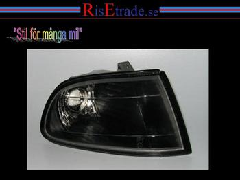 Frontblinkers till Honda i svart 92-95