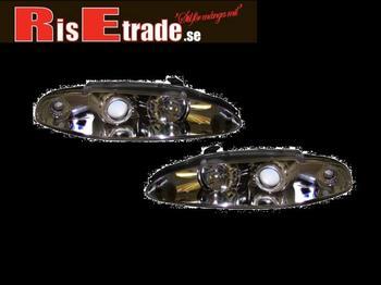 Eclipse D30 95-97 - ANGEL EYES i krom.