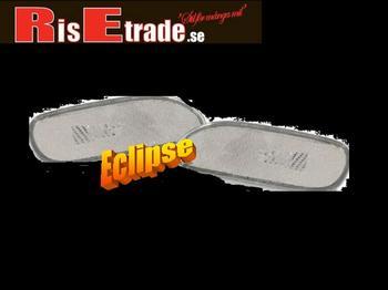 Eclipse  95-99 - sidoblinkers i vit kristall