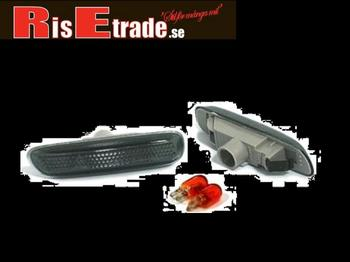 Svarta sidoblinkers till BMW E46