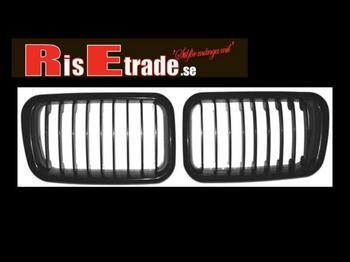 """Grill (""""njure"""") till BMW E36 96-. Svart M3 optik."""